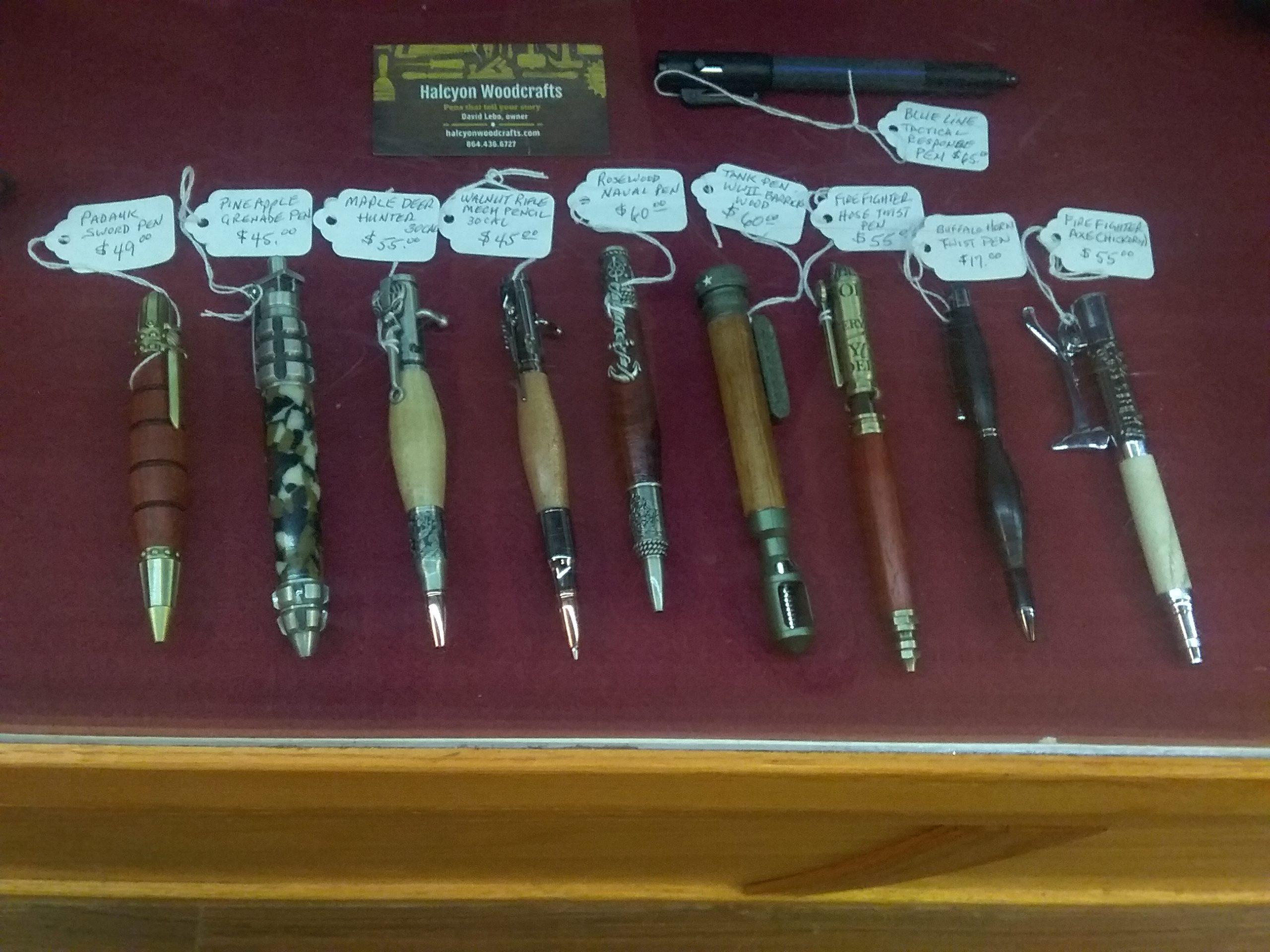 Halcyon Pens